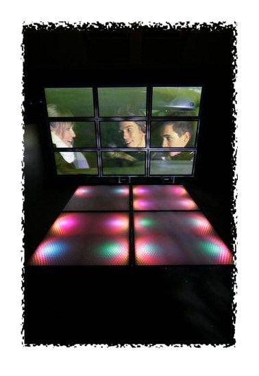 dance floor, led efekti, plesišče, razstavljivo plesišče, osvetljen oder, praktikabli